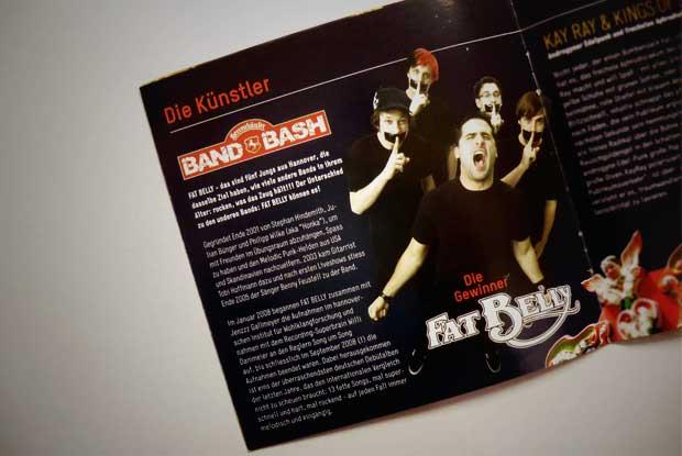 Der Herrenhäuser Band Bash mit Fat Belly im Programmheft 2009